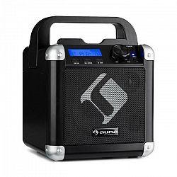 Auna BC-1, karaoke systém, bluetooth, batéria, držadlo, USB, AUX vstup, čierny