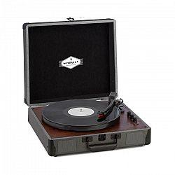 Auna Billy Bob, gramofón s BT, stereo reproduktor, bluetooth, čierny