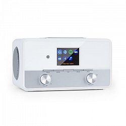 "Auna Connect 150 SE, 2.1 internetové rádio, DAB/DAB+/PLL-FM, BT, 2,8"" TFT displej, biele"