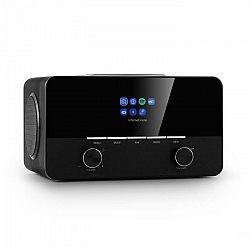 Auna Connect 150 SE, 2.1 internetové rádio, DAB/DAB+/PLL-FM, BT, Spotify, BT, čierne