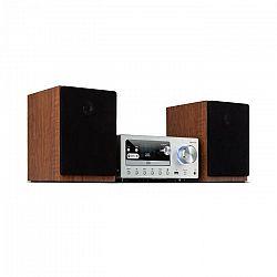 Auna Connect System, stereo systém, 80 W max., internetové/DAB+/FM rádio, CD prehrávač