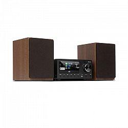 Auna Connect System, stereo systém, max 80 W, internetové/DAB+/FM rádio, CD-prehrávač