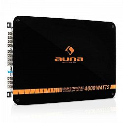 Auna Dark Star 4000, 4000 W, 4-kanálový koncový zosilňovač