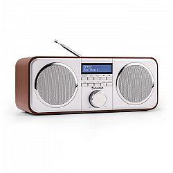 Auna Georgia DAB-rádio, DAB+, FM, predvoľby staníc, budík, AUX, čerešňa