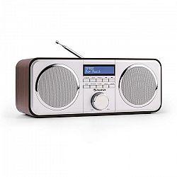 Auna Georgia DAB-rádio, DAB+, FM, predvoľby staníc, budík, AUX, čierne