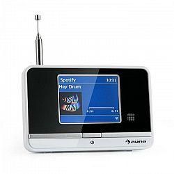 Auna Internetový rádiový adaptér auna iAdapt 320, WLAN, DAB/DAB+, FM/AM, TFT displej, biely