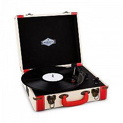 Auna Jerry Lee, retro gramofón, LP, USB, biely