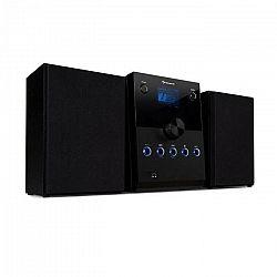 Auna MC-30, DAB mikrosystém, 2 reproduktory, DAB+, FM, bluetooth, CD prehrávač, čierny