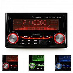 Auna MD-200BT autorádio, USB, SD, MP3, bluetooth, 3 farby