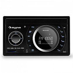 Auna MD-210 BT RDS, 4 x 75 W, autorádio, bluetooth, USB, SD, MP3, mikrofón, 2-DIN