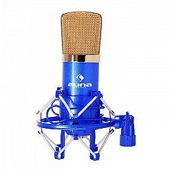 Auna Pro CM001BG štúdiový mikrofón modro-zlatý, kondenzátorový