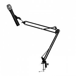 Auna Pro ST-1.2, čierne, mikrofónové rameno, držiak s mechanickým upínaním, 1,5 kg, 35 x 35 cm