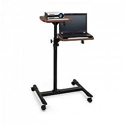 Auna Pro TS-6, vozík na projektor, stolík na laptop, výškovo nastaviteľný, 83 – 107 cm, čierny