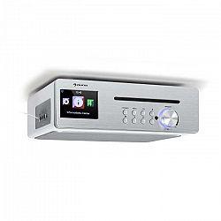 Auna Silverstar Chef, kuchynské rádio, 20 W max., CD, BT, USB, internet/DAB+/FM, biele
