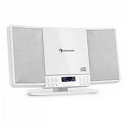 Auna V14-DAB, Vertikálny stereo systém, CD FM a DAB+ tuner, BT, biely