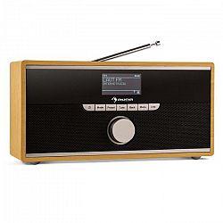 Auna Weimar DAB-rádio, internetové rádio, bluetooth, DAB+, FM, budík, prenosné