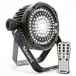Beamz BS98 LED-Strobe stroboskop 98xSMD-LEDs DMX biela farba IR diaľkové ovládanie