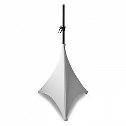 Beamz Lycra, 120 cm, biela, plachta na statív, dvojstranná, zips