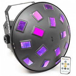 Beamz Mushroom II, 6 x 3 W RGBAWP LED dióda