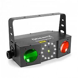 Beamz Terminator IV 3v1 efekt, moonflower, laser a strobe, diaľkové ovládanie