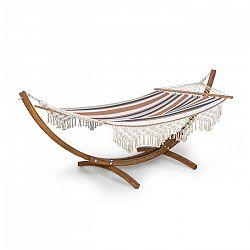 Blumfeldt Bali Swing, hojdacia sieť, smrekovec, 160 kg max., 320 g/m², 3-farebná pruhovaná
