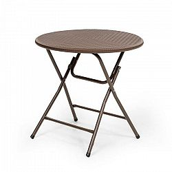 Blumfeldt Burgos Round skladací stôl