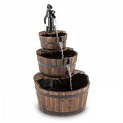 Blumfeldt Cascada 2G, kaskádová fontána, záhradná, 12 W, 800 l/h, drevo