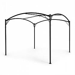 Blumfeldt Castello, rám altánku, 3,5 x 3,5 m, oceľ, práškové lakovanie, čierny