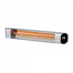 Blumfeldt Dark Wave, infračervený ohrievač, 2000W, IP65, hliník, strieborný