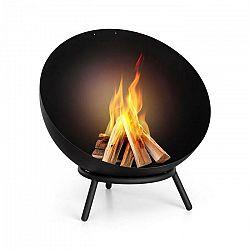 Blumfeldt Fireball, sklopné oceľové ohnisko, do záhrady alebo na terasu, Ø 60 cm