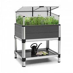 Blumfeldt Novagrow Advanced, skleník, 78,5 x 101,5 x 60,5 cm, 113 l, UV ochrana, sivý