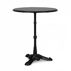 Blumfeldt Patras-BK, bistro stôl, žula, vodovzdorný, mrazuvzdorný, čierny