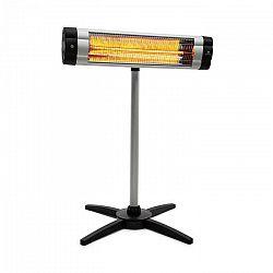 Blumfeldt Rising Sun Mono, ohrievač, 2500 W, IP34, výškovo nastaviteľný, strieborný