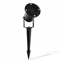 Blumfeldt Snowdance, LED projektor, snehové vločky, vodotesný, 4 farby, IP65