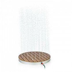 Blumfeldt Sumatra Breeze, RD, záhradná sprcha, WPC, hliník, Ø70, 4cm, okrúhla