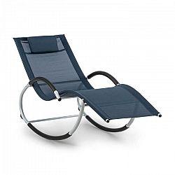 Blumfeldt Westwood Rocking Chair, hojdacie ležadlo, ergonomické, hliníkový rám, tmavomodré