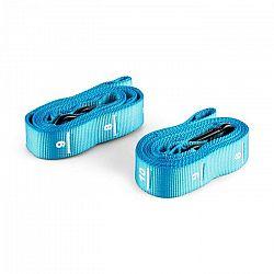 Capital Sports Addic, modrý, nylónový popruh, pás, 2 kusy, sada, karabínový hák, súťažný štandard