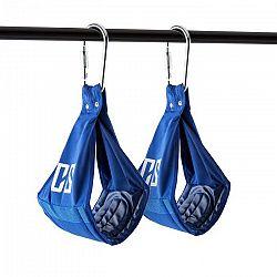Capital Sports Armlug Ab Slings, max. 120 kg, modrá, tréningové ramenné opierky, karabínkové háky