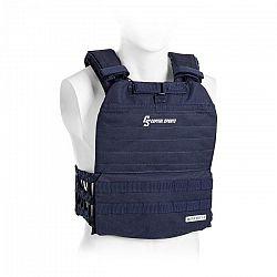 Capital Sports Battlevest 2.0, záťažová vesta, 2 x 8,75 lbs (4,0 kg) závažie, modrá