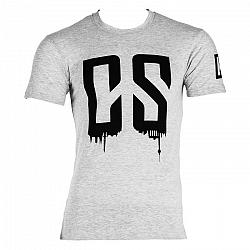 Capital Sports Beforce, veľkosť L, sivé, tréningové tričko, pánske