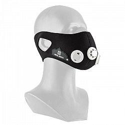 Capital Sports Breathor, čierna, dýchacia maska, výškový tréning, veľkosť L, 7 nástavcov