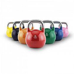 Capital Sports Compket Set, súťažný kettlebell, 7 x súťažná guľatá činka, oceľ