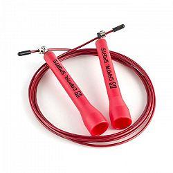 Capital Sports Exerci, 2,75m, červené, švihadlo s oceľovým lankom