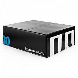 Capital Sports Rookso Soft Jump Box, plyobox, čierny, 30 cm