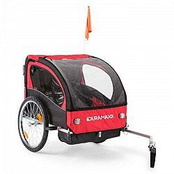 DURAMAXX Trailer Swift, príves na bicykel pre dieťa, 2 sedadlá, 20 kg max.