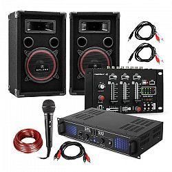 Electronic-Star DJ-14 BT, DJ PA set, PA zosilňovač, BT mixážny pult, 2 x reproduktor, karaoke mikrofón