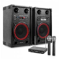 "Electronic-Star Karaoke zariadenie ""STAR-Neukölln"" reproboxy rádio mikrofón"