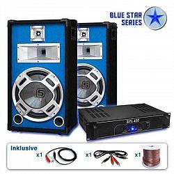 "Electronic-Star PA set Blue Star Series ""Starter"", 1200 W systém"