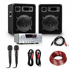 """Electronic-Star PA set """"READY 2 GO"""", repro, mikrofony, zesilovač 400W"""