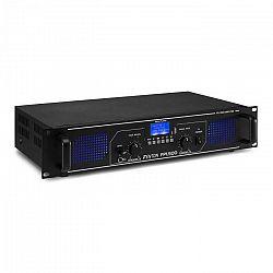 Fenton FPL500, digitálny zosilňovač, 2 x 250 W, BT, prehrávač médií, USB port, SD slot